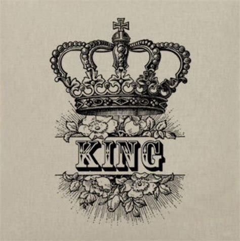 king crown flowers ink l 161 f 163 pinterest kings