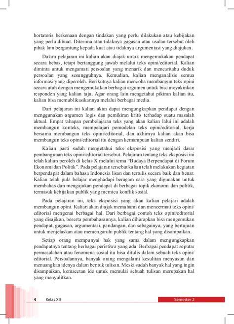 Membuat Teks Opini | bahasa indonesia kelas xii smt 2 k13