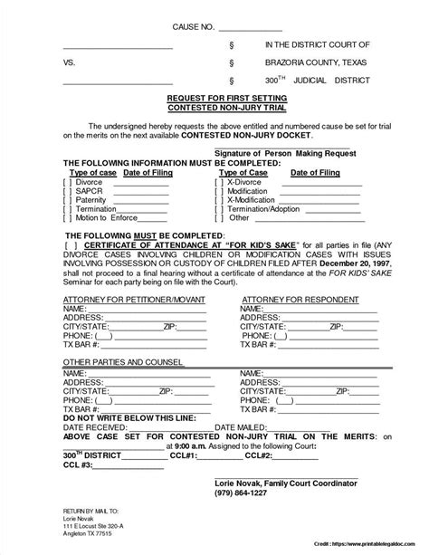 divorce decree template petition for divorce form form resume exles