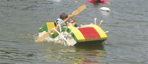 cardboard boat paddles pell city picture of the day oh those wonderful kids in