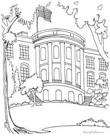 what color is the white house white house coloring page coloring home