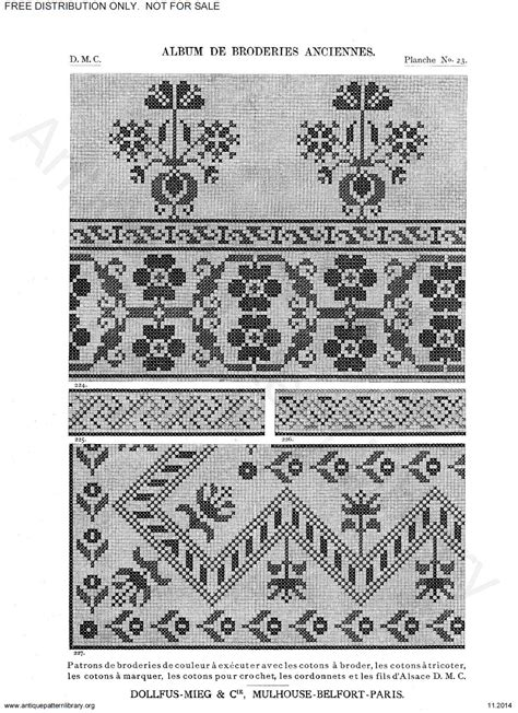 antique pattern library dmc apl c ik001 dmc old cross stitch page 29