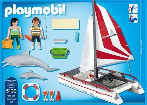 catamaran playmobil 5130 catamaran et dauphins de playmobil