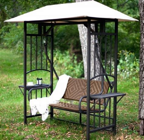 patio swing with canopy costco reviews