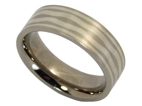 Verlobungsringe Silber Paar by Eheringe Edelstahl Mit Silber Kwo Trauringe