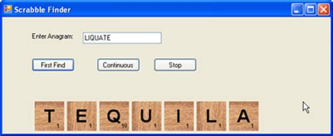 anagram solver scrabble ai using genetic algorithms and netspell to solve anagrams