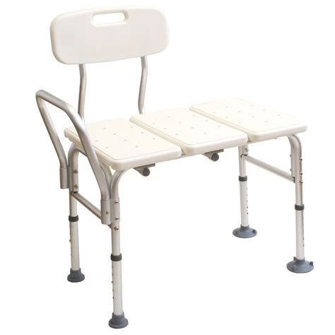 transfer benches medline transfer bench 1 bench health wellness bathroom safety bath safety