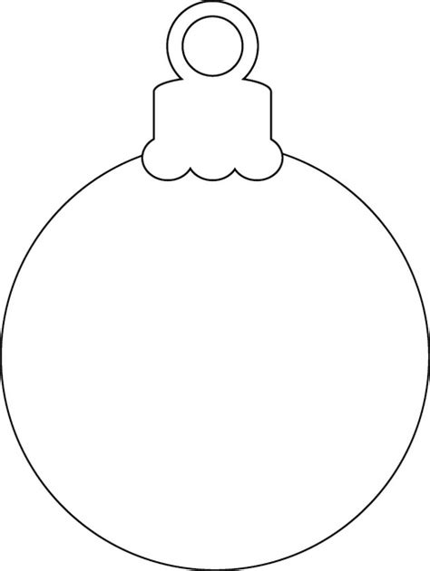 round christmas ornament coloring page christmas ornament christmas ornament ornament and template