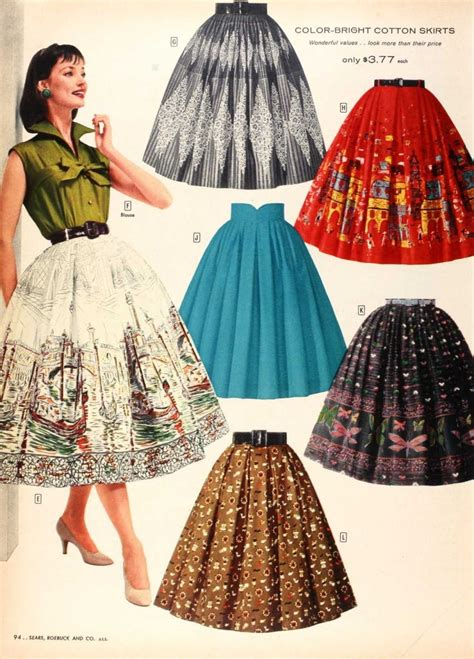 Fabulous Blogs On Vintage Style by 15 Fabulous 50s Skirts To Make You For The Days Of