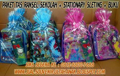 Tas Paket Paketan Set 4 jual souvenir bingkisan hadiah kado ulang tahun anak dengan harga grosir di jamin murah