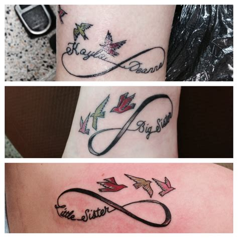 mother daughter infinity tattoos tattok ideas