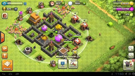 layout coc town hall level 4 clash of clans town hall 4 farming base layout car