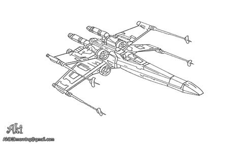 star wars coloring pages x wing fighter super wings para colorir coloring page x wing