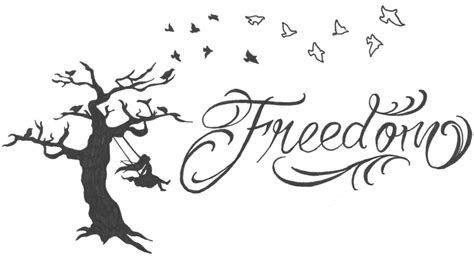 freedom tattoo design freedom design by spellfire42489 on deviantart