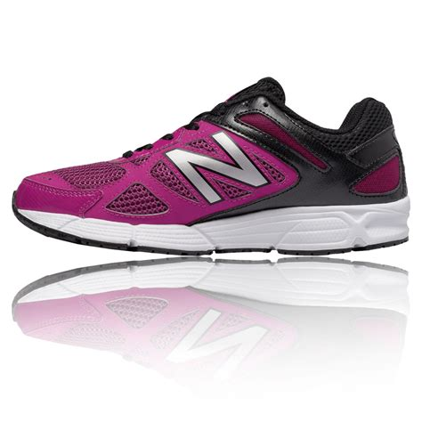 pink sport shoes new balance w460v1 womens pink black running road sports