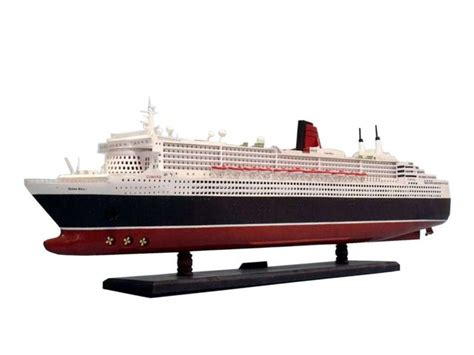 cruise boat queen mary 2 buy queen mary 2 limited 40 inch model boat cruise ship