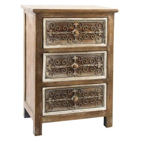 comodini legno comodino legno e metallo comodini mobili etnici