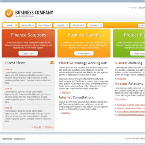 templates for business vancouver online news website business plan homework help