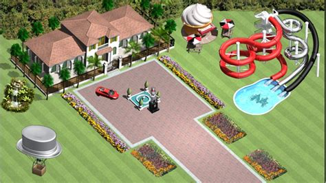 create your own mansion game