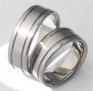 home 187 matching titanium wedding band set stn5