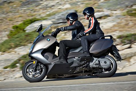 auto buzz 2016 bmw c650gt and c650 sport scooters