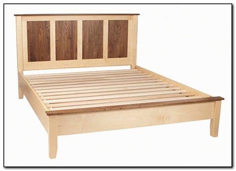 1000 ideas about bed frame plans on platform