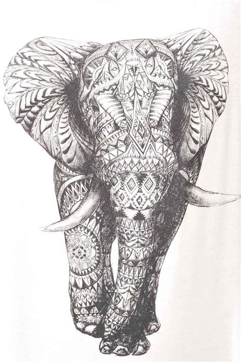 elephant design clothes best 25 tribal elephant drawing ideas on pinterest