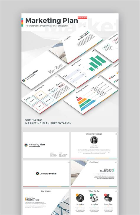20 Marketing Powerpoint Templates Best Ppts To Present Your Plans In 2019 Marketing Plan Presentation Template