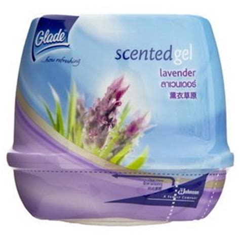 how to use scented gel glade scented gel lavender air freshener 200g