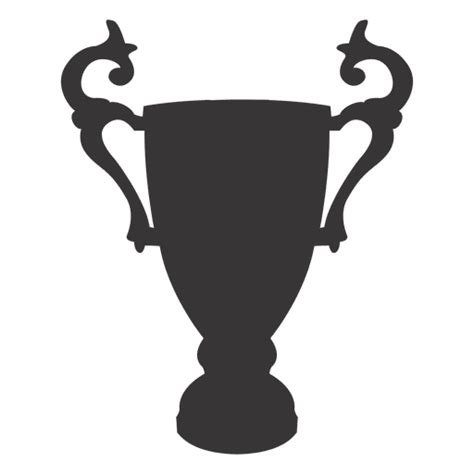 cup silhouette png trophy cup silhouette transparent png svg vector