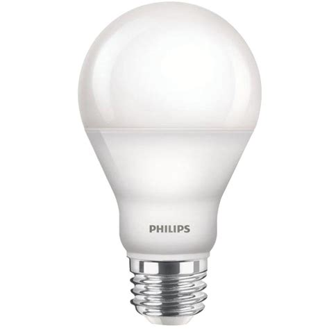 Led Philips Bulb philips 60w equivalent soft white a19 dimmable led with warm glow light effect household light