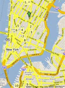 New York City Walking Map by The Millions Islands In The Stream A Walking Tour Of