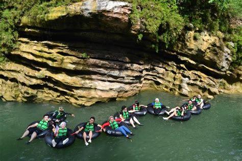 goa pindul cave tubing river tubing sungai oyo sunset di swimming in oyo river picture of cave tubing goa pindul