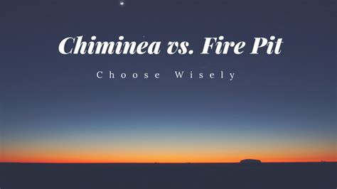 Chiminea Vs Pit by Chiminea Vs Pit Which One Should You Buy
