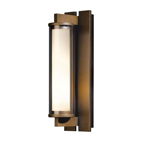 Exterior Wall Sconce Fuse Large Outdoor Sconce Hubbardton Forge