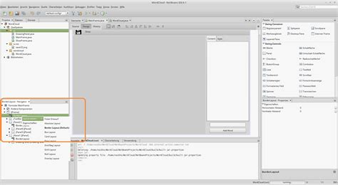layout manager used in jtoolbar java tutorial f 252 r einsteiger moderne benutzeroberfl 228 chen