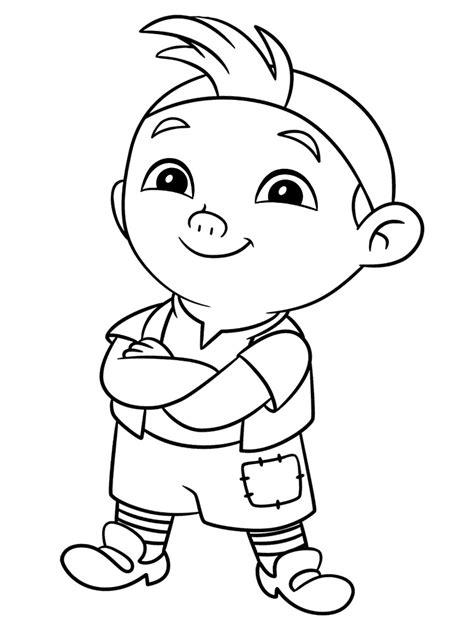 imagenes de jack para colorear gratuitos dibujos para colorear jake y los piratas de
