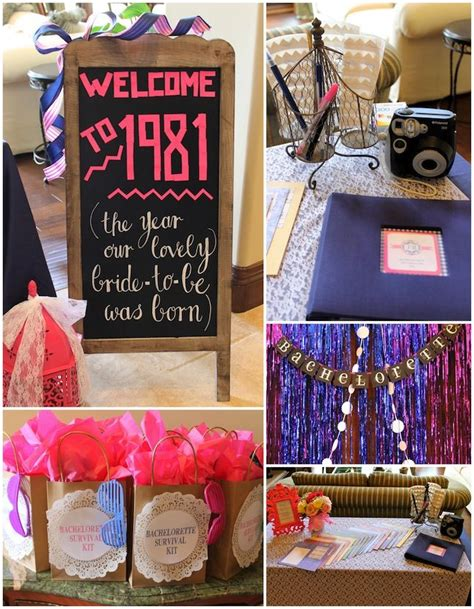 cute themes for bachelorette party 80 s theme bachelorette party the world s most