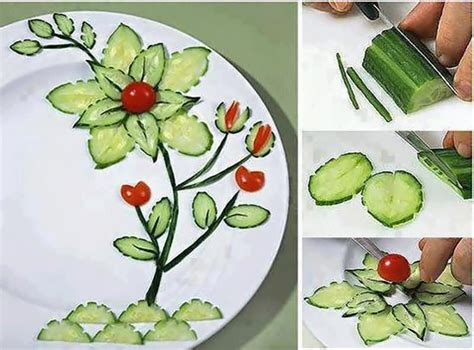 diy flower food wonderful diy food art garnishing
