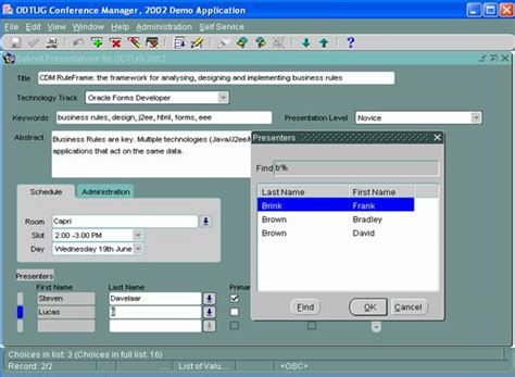 tutorial oracle forms 6i image gallery oracle forms