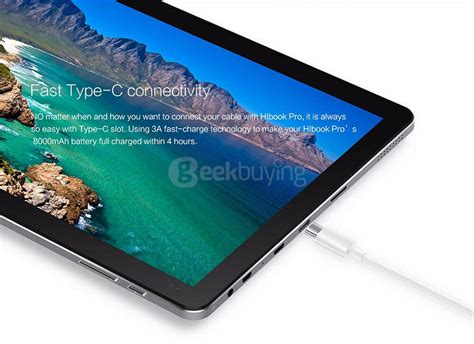 Tablet Pc Chuwi Hibook Pro 2in1 Ultrabook Type C 4gb 64gb 101 Gray package b chuwi hibook pro 2 in 1 ultrabook tablet pc gray