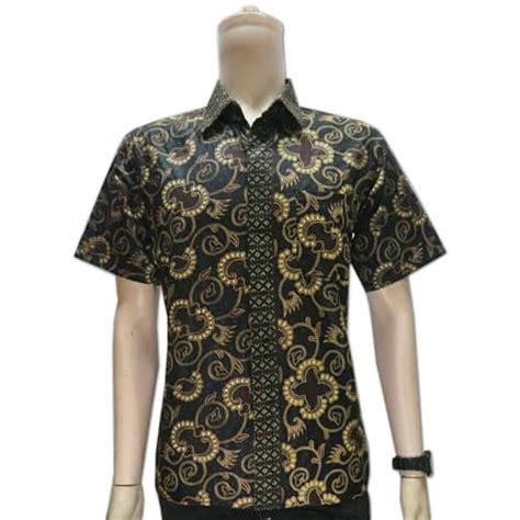 Baju Tactical Lengan Pendek baju batik pekalongan lengan pendek pusaka dunia