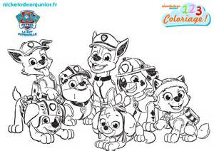 coloriage paw patrol episode 119 nickelodeon junior