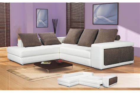 canape d angle cuir convertible canap 233 d angle convertible tonio cuir pu et tissu