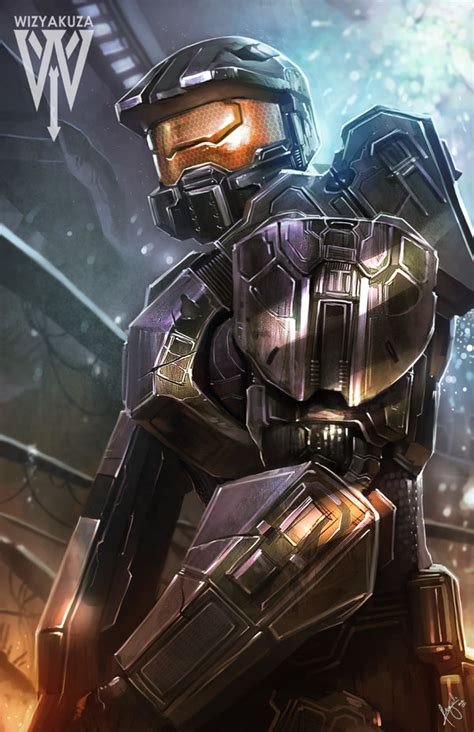 fan made halo game halo master chief fan art created by ceasar ian muyuela