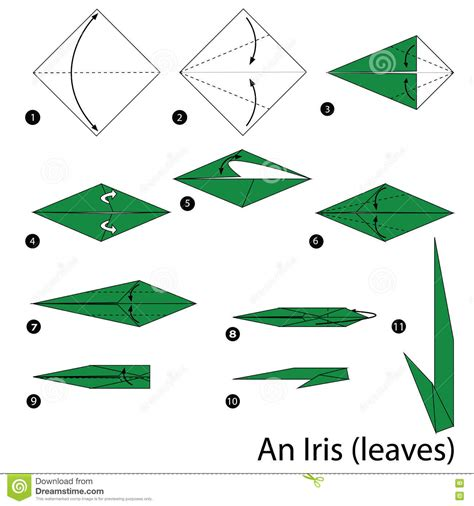 Origami Stem - origami origami how to make a iris flower hd origami