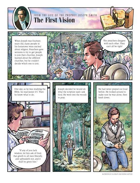mormon a valiant prophet friend the first vision friend