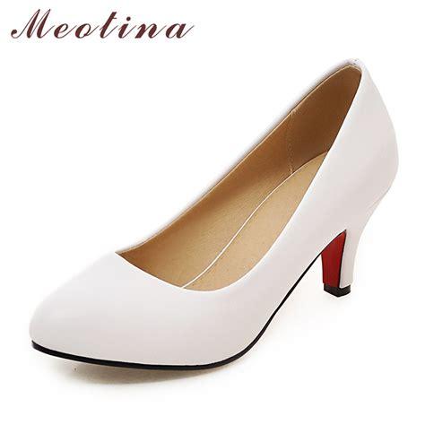 plus size high heel shoes meotina high heel shoes pumps plus size 33 43