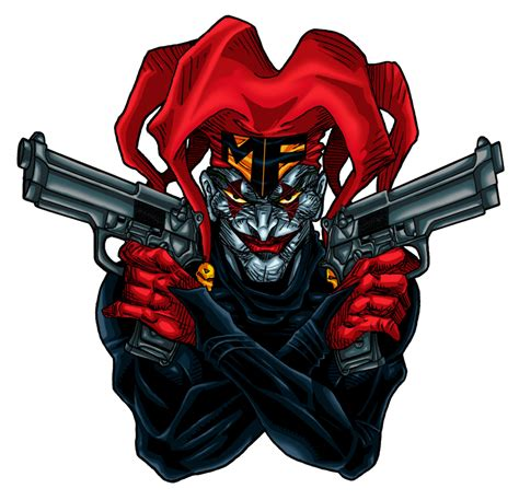 joker tattoo png commish joker logo by vaxion on deviantart