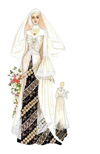 sketsa desain dress batik 17 best images about dresses on pinterest muslim women